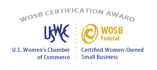 Women Owned Small Business (WOSB) Program Certification Logo